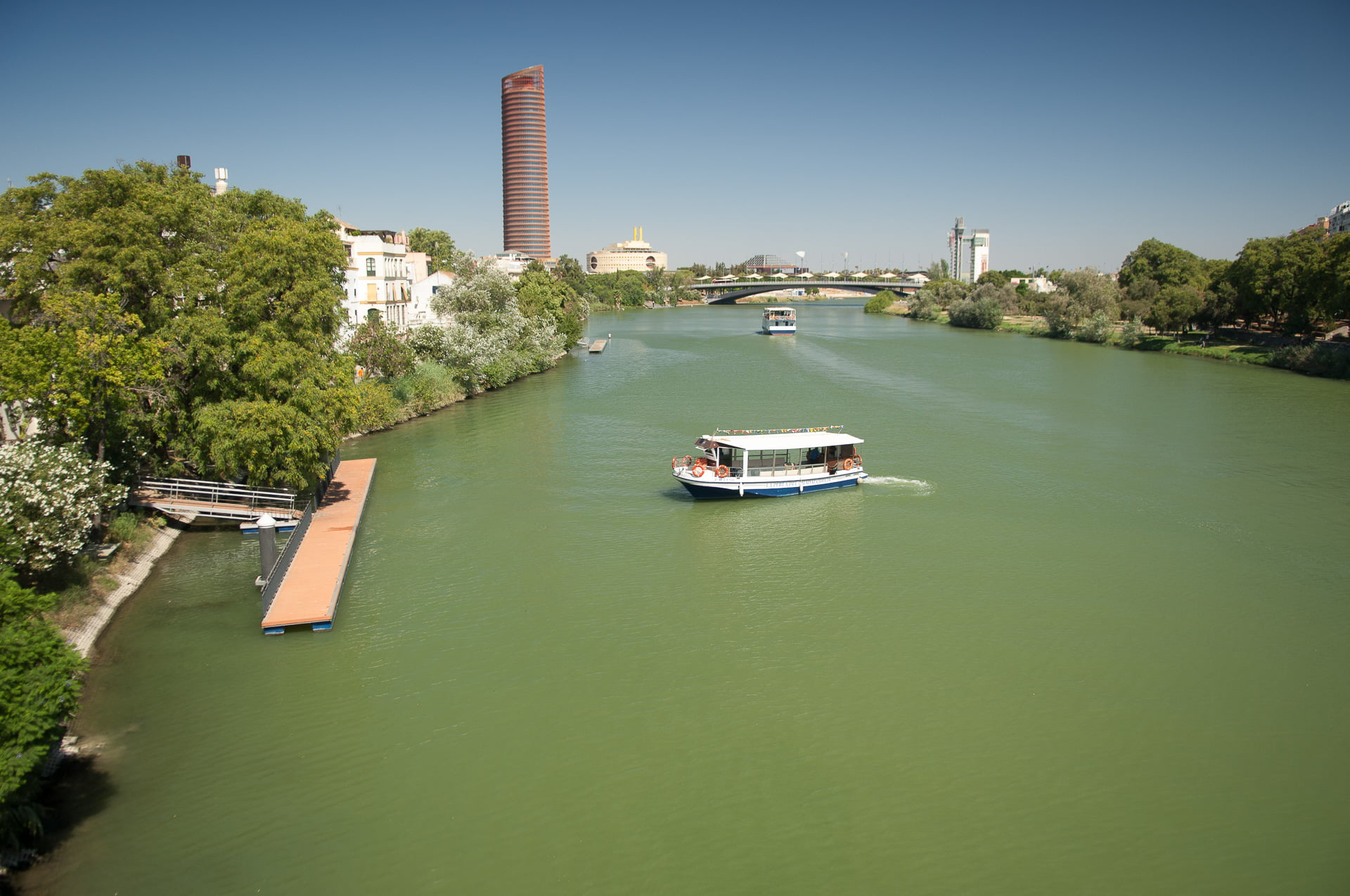 Stad aan de Guadalquivir