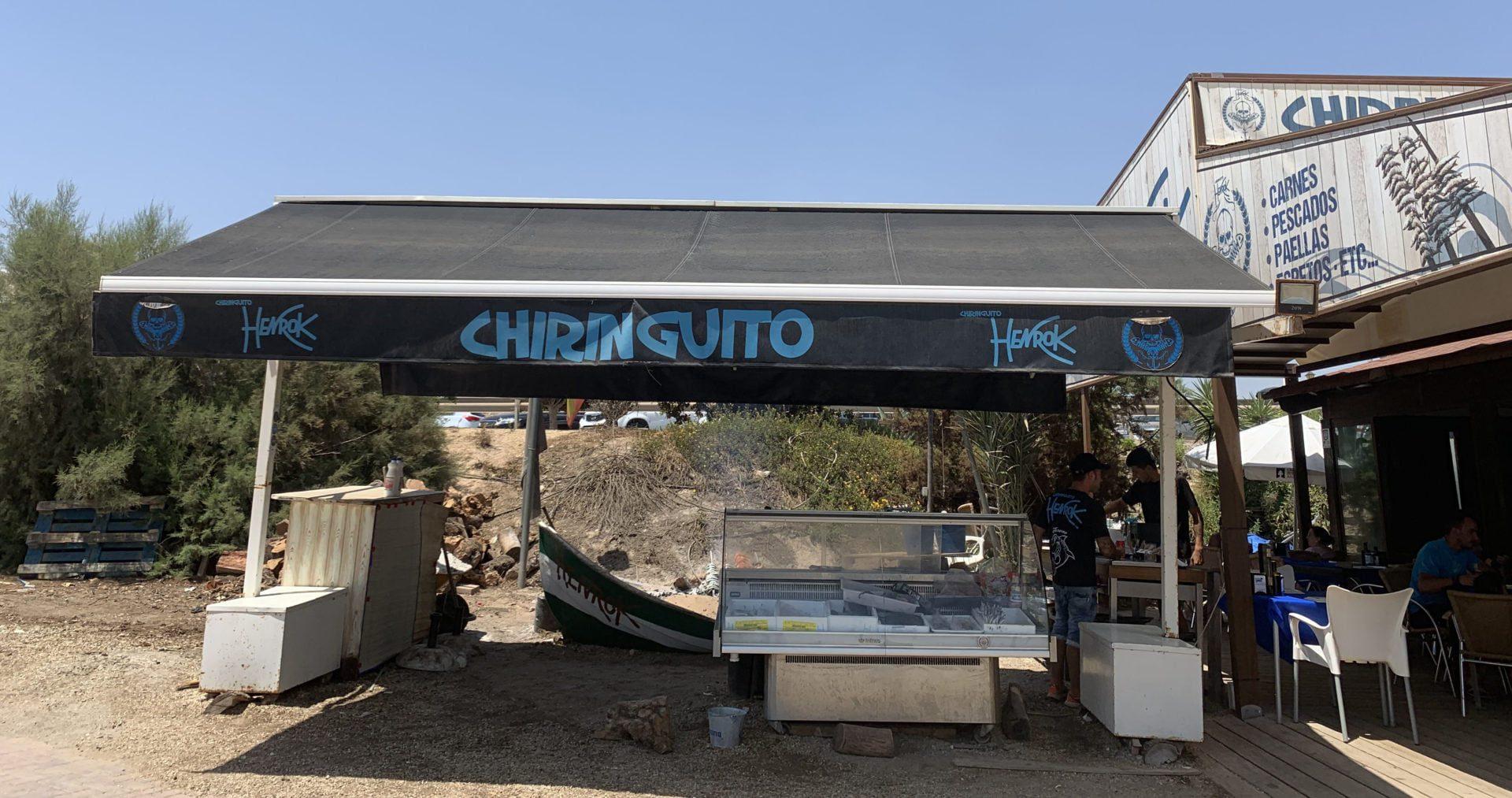 Smullen bij Chiringuito Nautico in Pulpí