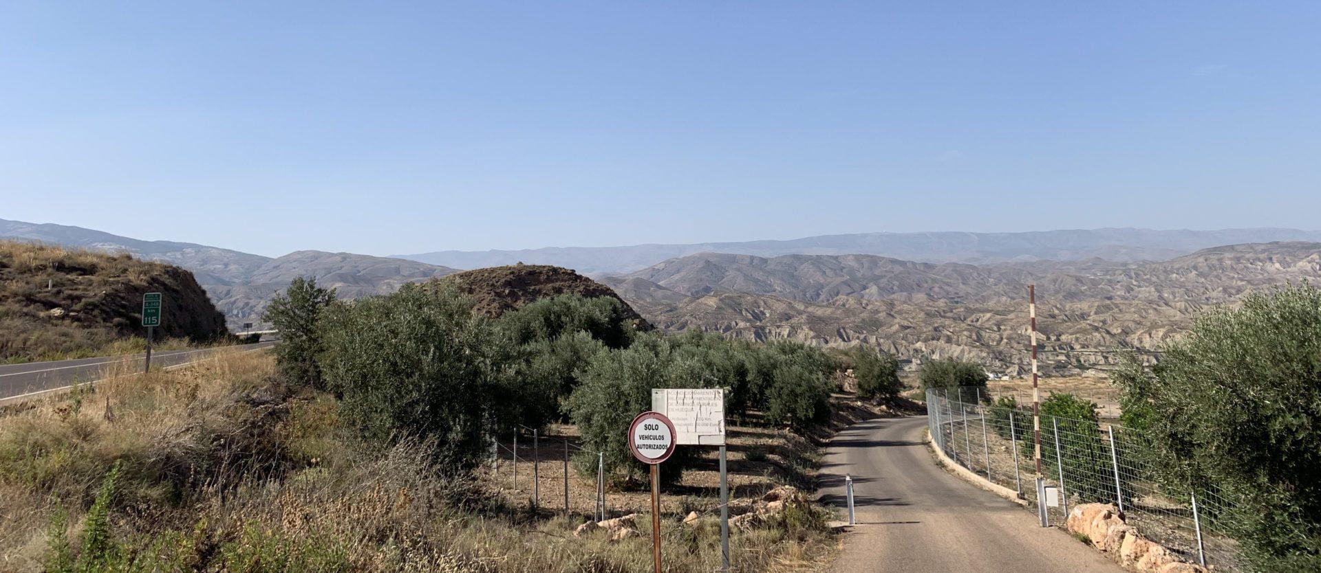 Route 66 door Diesierto de Tabernas