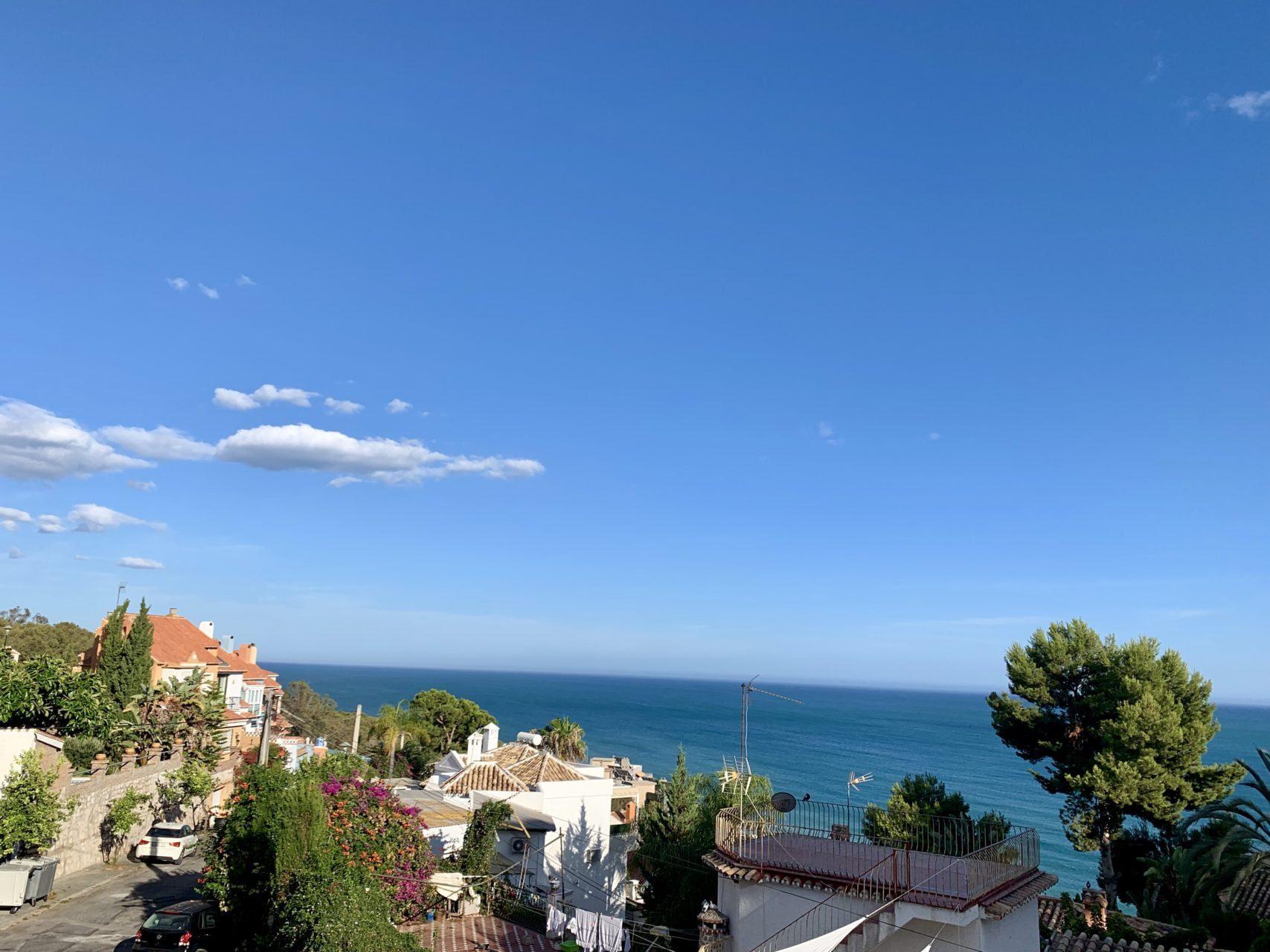 Appartement met zeezicht in Málaga