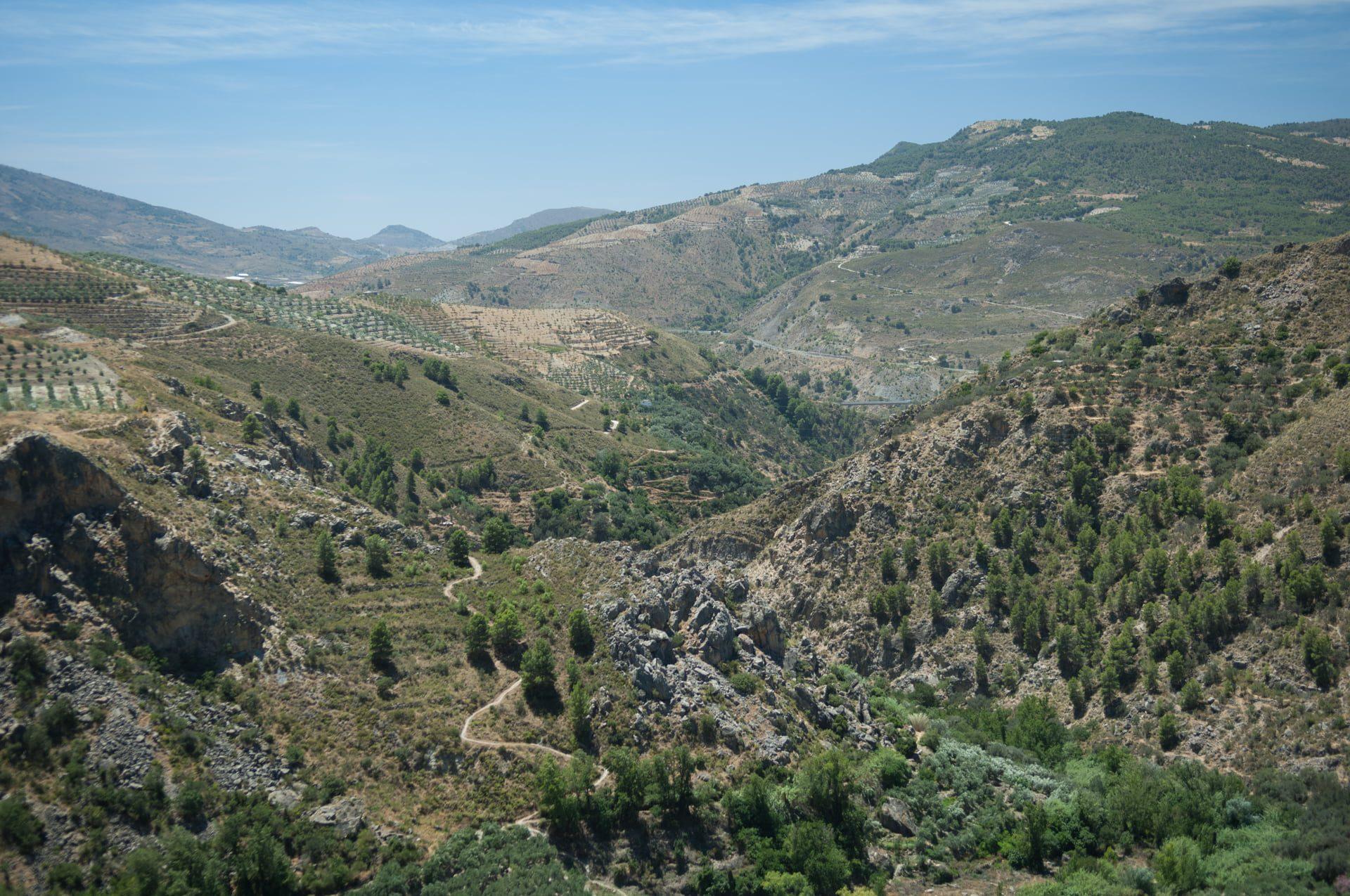 Van oost naar west door Las Alpujarras