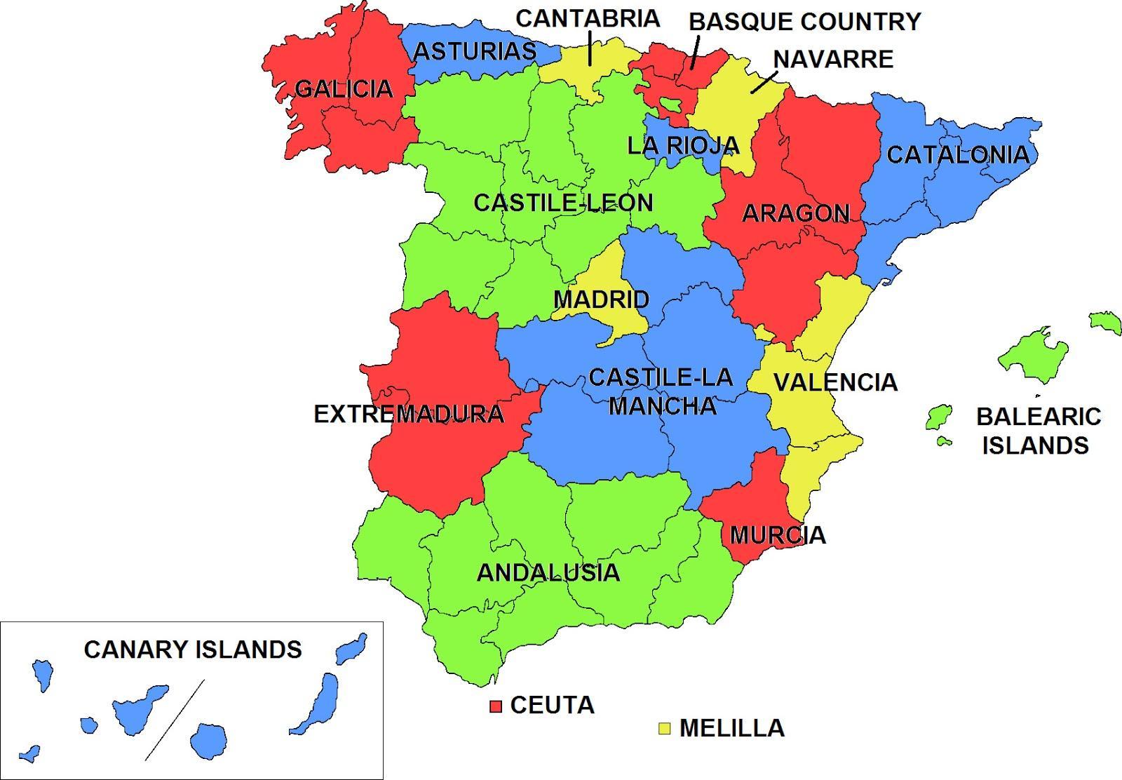 De Spaanse regionale feestdagen – Wat vieren ze nou eigenlijk?