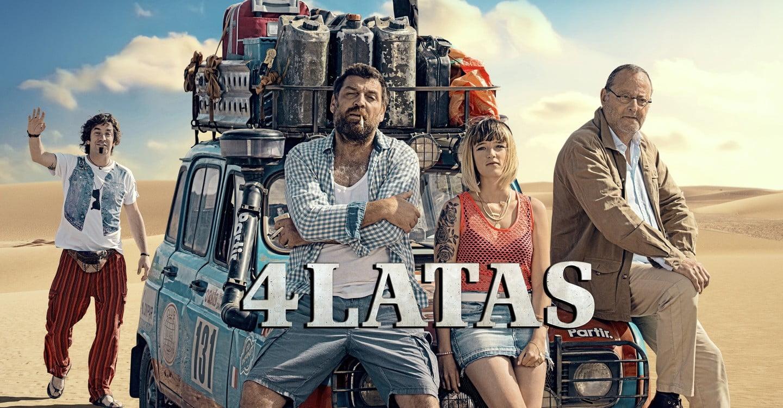 4 Latas – Mooie Netflix roadmovie