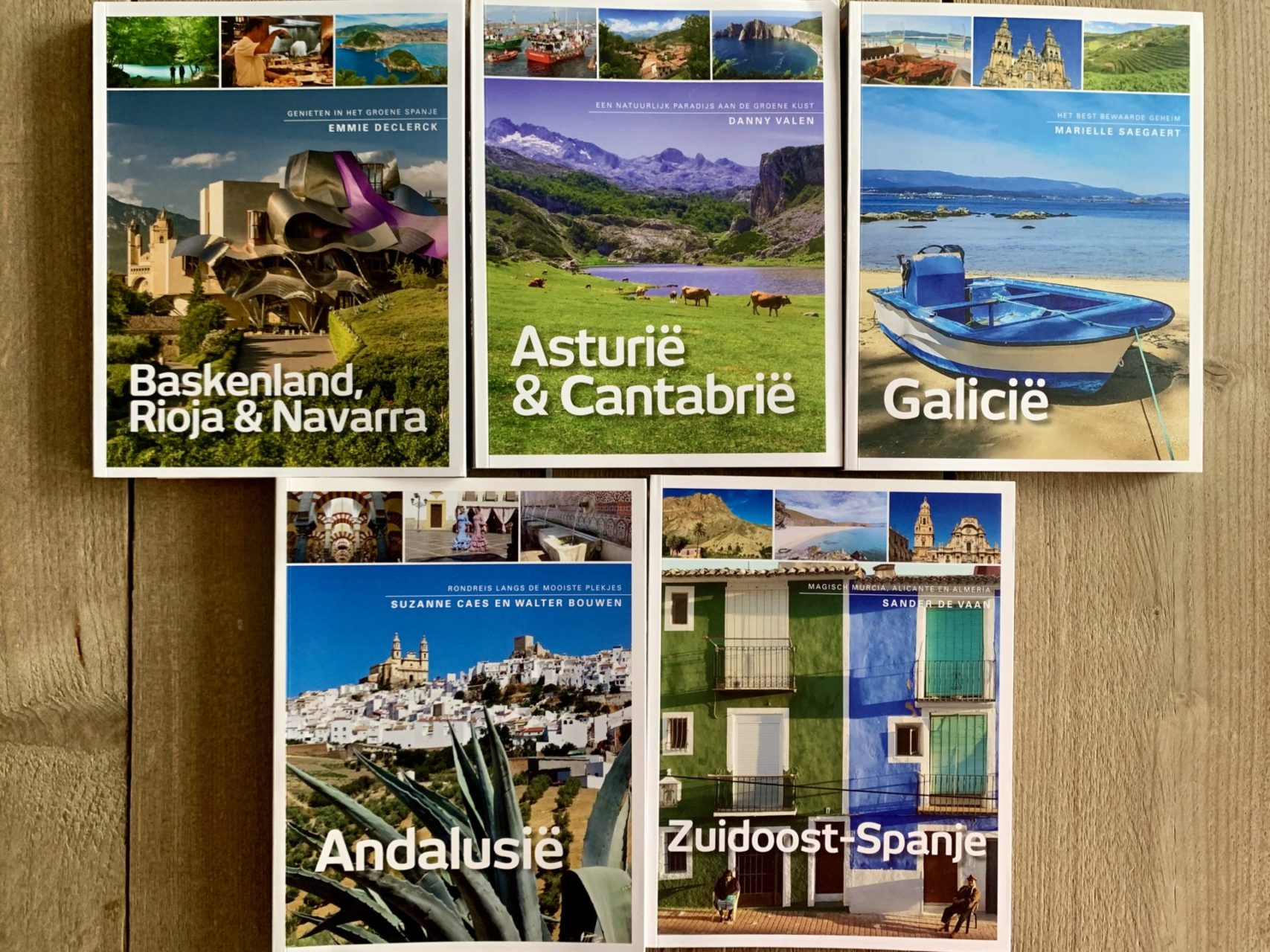 Mijn favoriete Spaanse reisgidsen door Nederlandse Spanjaarden