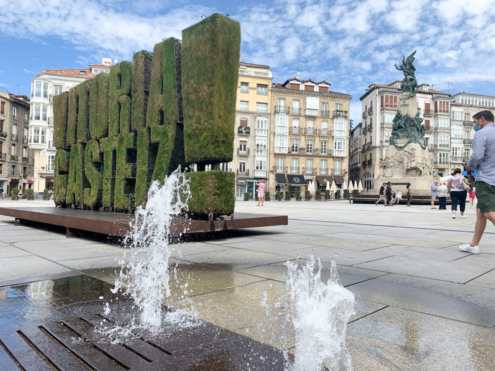 Het Middeleeuwse Vitoria-Gasteiz, de hoofdstad van Baskenland