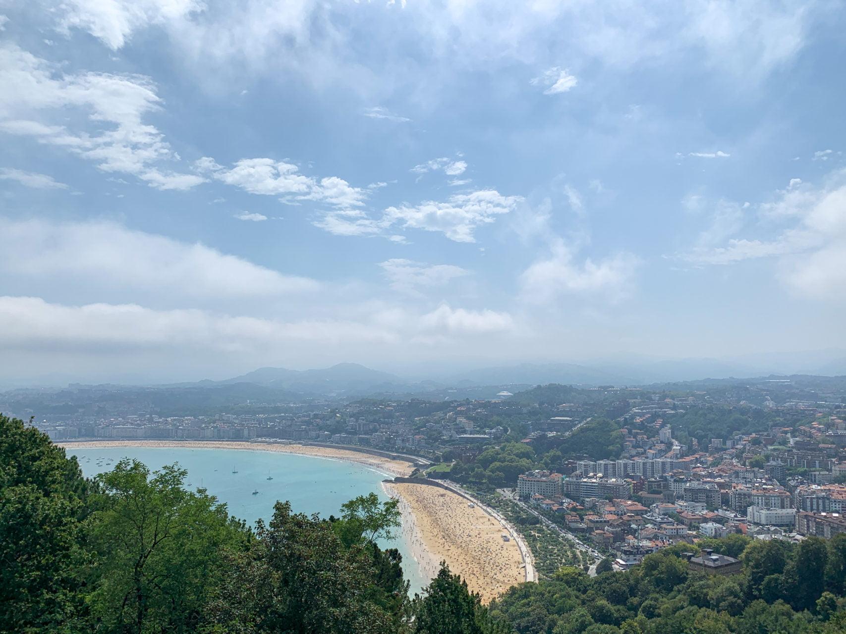 Het mooiste uitzicht op San Sebastián vanaf Monte Igueldo