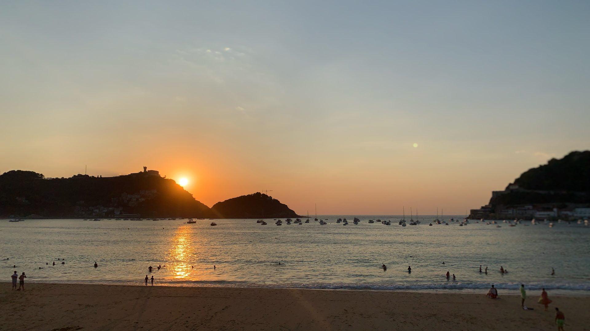 Wonderschoon en relaxed Donostia, San Sebastián