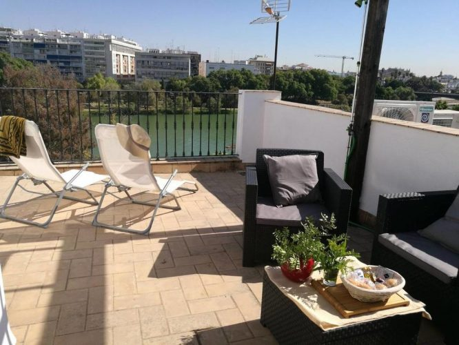 12 Toffe overnachtingsadresjes in Andalusië-Triana Penthouse