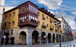 De paleizenroute door Bilbao-Arana